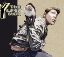 Disegno promozionale dei protagonisti del serie a fumetti Y: The Last Man