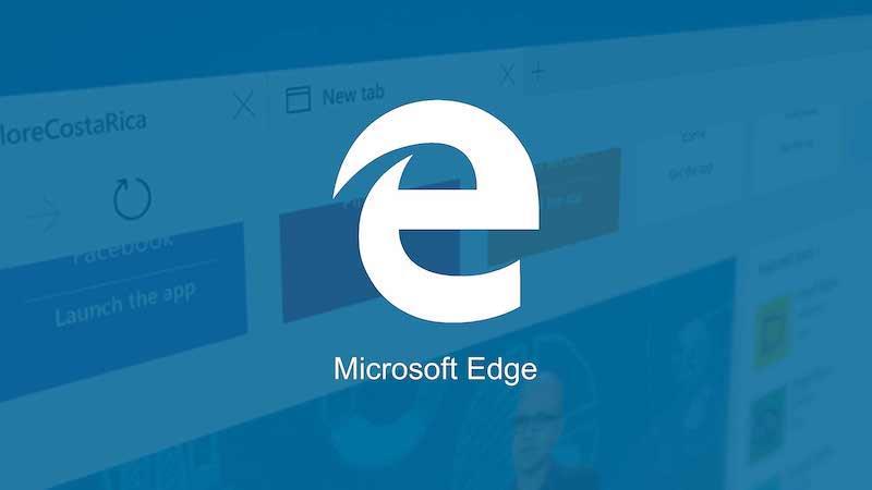 Il logo di Microsoft Edge