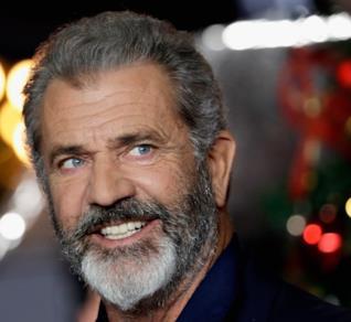 L'attore e regista Mel Gibson all'anteprima di Daddy's Home 2