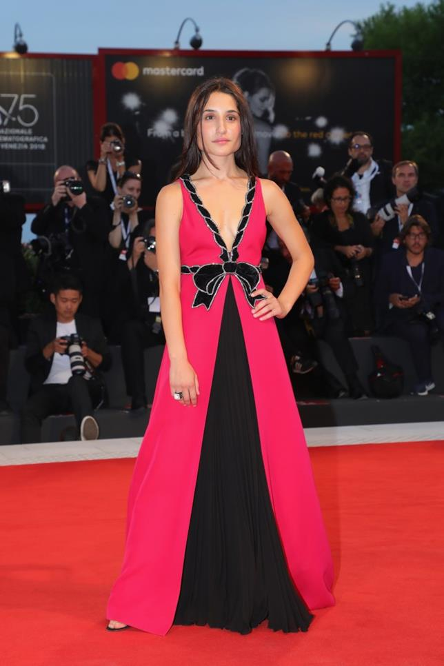 Marianna Fontana al Festival del Cinema di Venezia