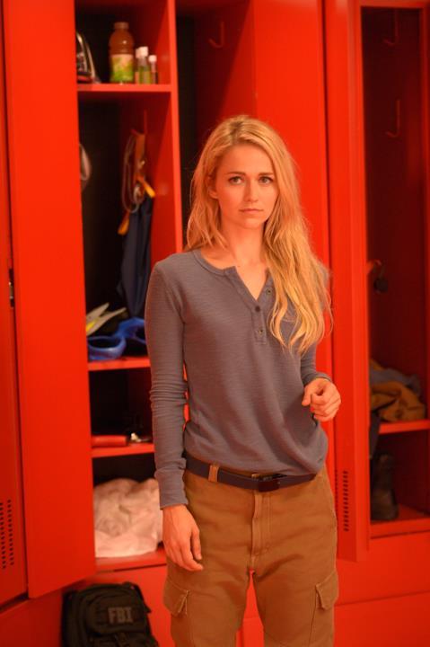 Shelby Wyatt durante l'addestramento a Quantico