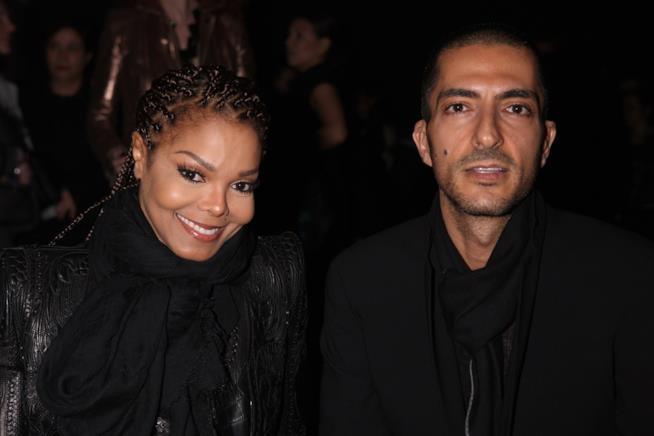 Primo piano di Wissam Al Mana e Janet Jackson
