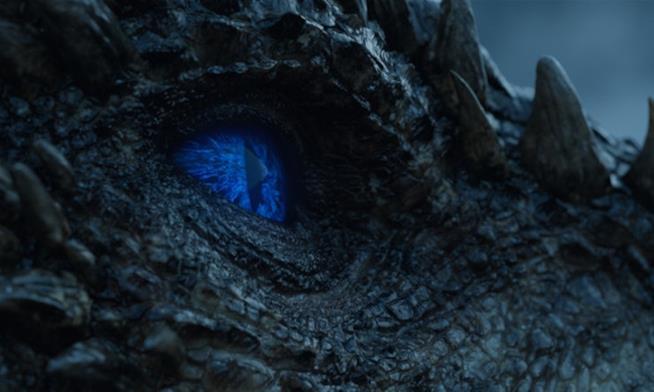 Occhio del drago Viserion come Estraneo