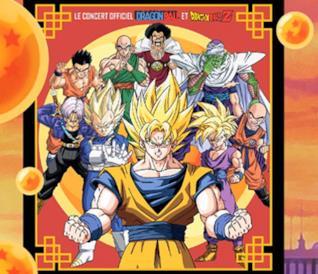I personaggi di Dragon Ball pronti al concerto ufficiale