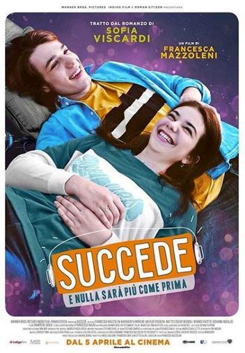 Il poster del film Succede
