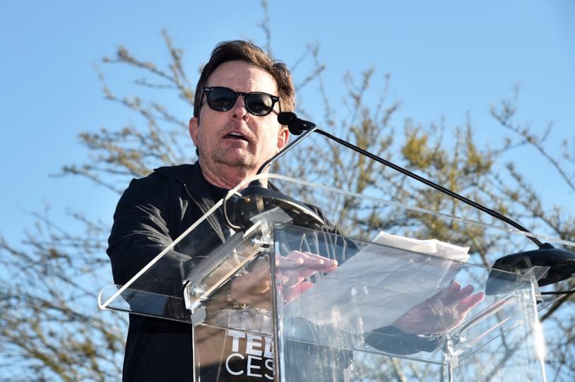Michael J. Fox ha preso parola durante l'ultima manifestazione contro Donald Trump