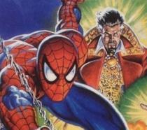 Lo Spider-Man di Tom Holland visto sul set di Doctor Strange