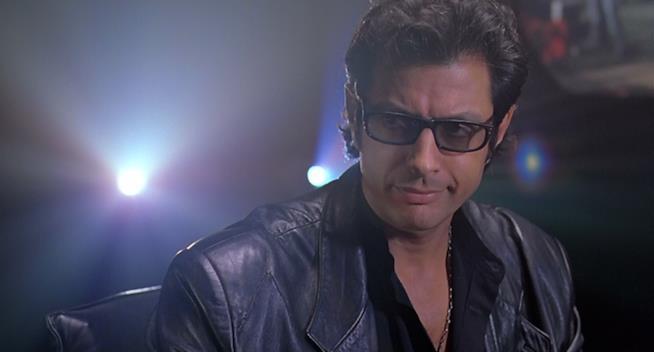 Jeff Goldblum nel ruolo di Ian Malcolm