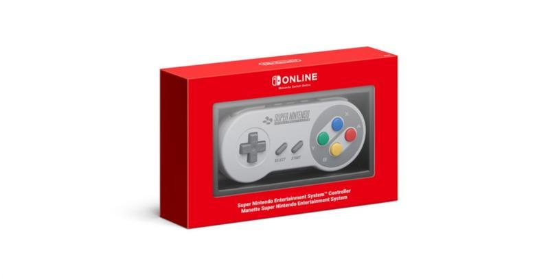 Un'immagine promozionale del controller SNES per Switch