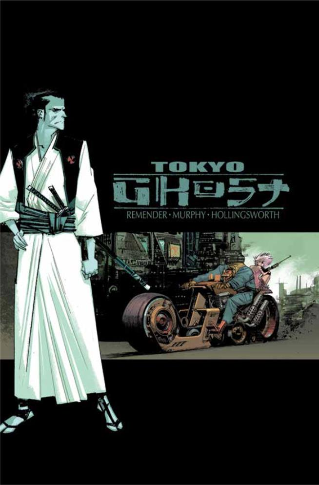Variant Cover di Tokyo Ghost Vol. 1