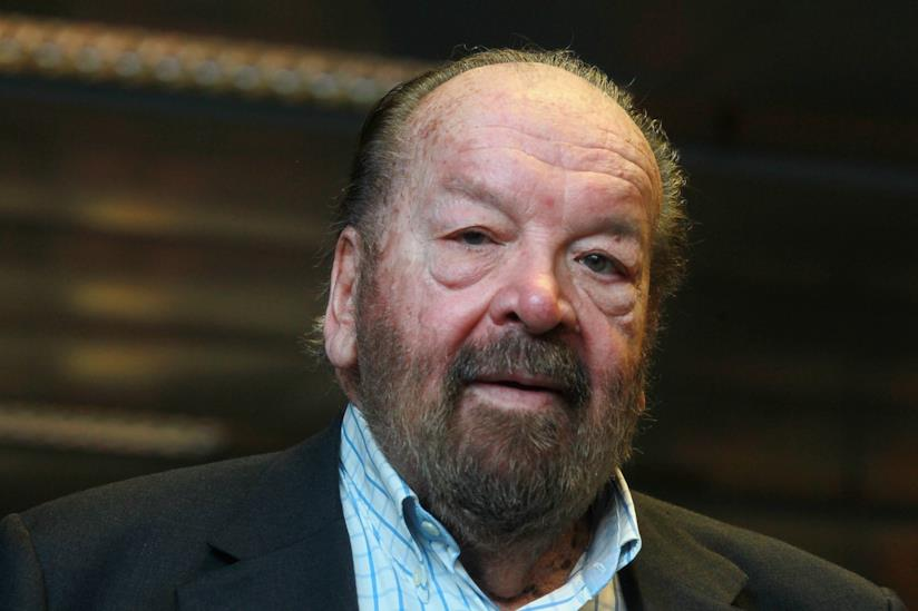 Un primo piano di Bud Spencer
