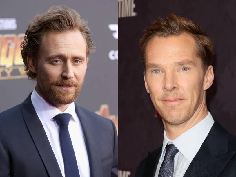 Primo piano dei due attori britannici