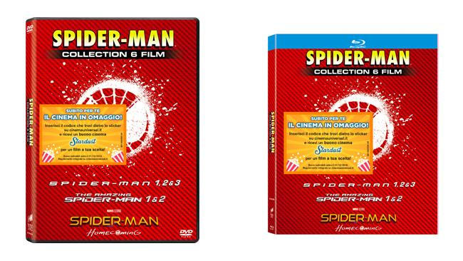 Spider-man Collection Home Video - 6 film