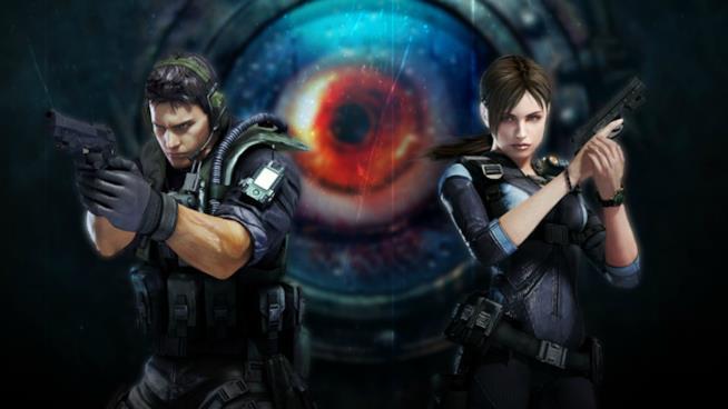 Chris Redfield e Jill Valentine di nuovo in coppia per Resident Evil Revelations