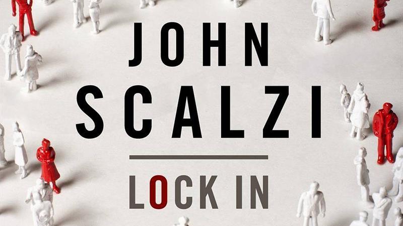 Un dettaglio della copertina di Lock In