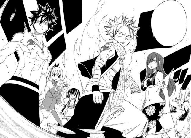 I protagonisti di Fairy Tail