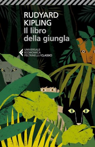 Copertina de Il libro della giungla di Rudyard Kipling