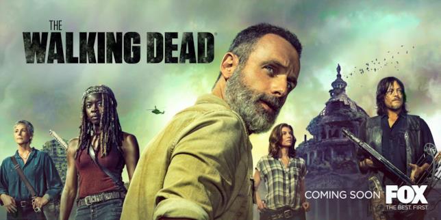 Il poster di The Walking Dead 9