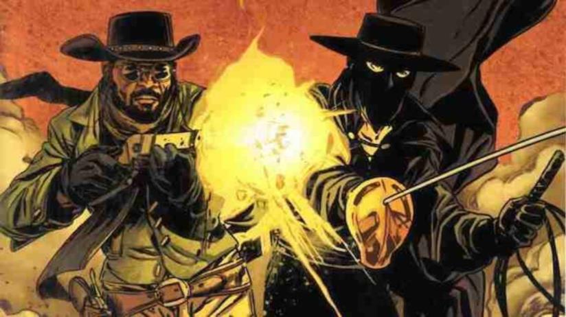 Il fumetto crossover di Django e Zorro scritto da Tarantino e Matt Wagner
