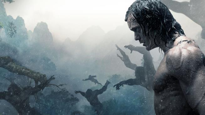 Alexander Skarsgård re della giungla nel poster di The Legend of Tarzan