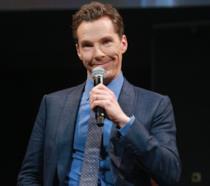 L'attore britannico Benedict Cumberbatch