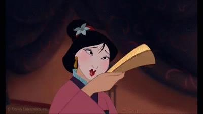 Mulan e il ventaglio