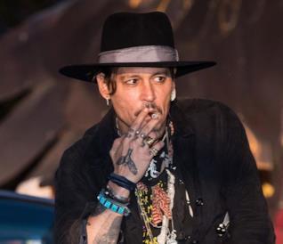 Johnny Depp al Glastonbury Festival 2017