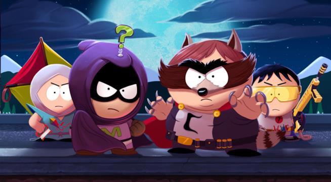 I protagonisti di South Park: Scontri Di-Retti