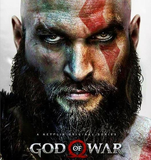 La serie fake di God of War con Jason Momoa