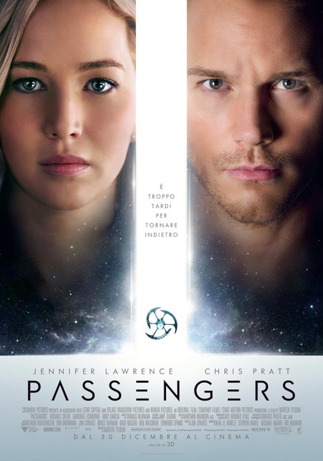 La locandina del film Passengers