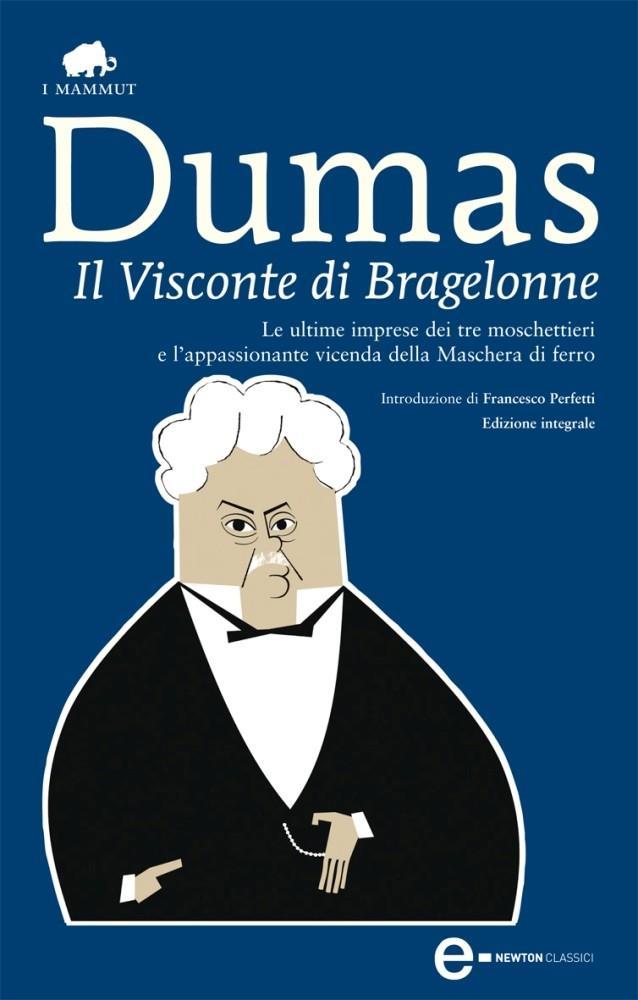La copertina de Il visconte di Bragelonne
