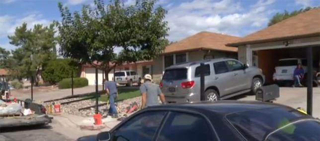 La recinzione intorno alla casa di Breaking Bad