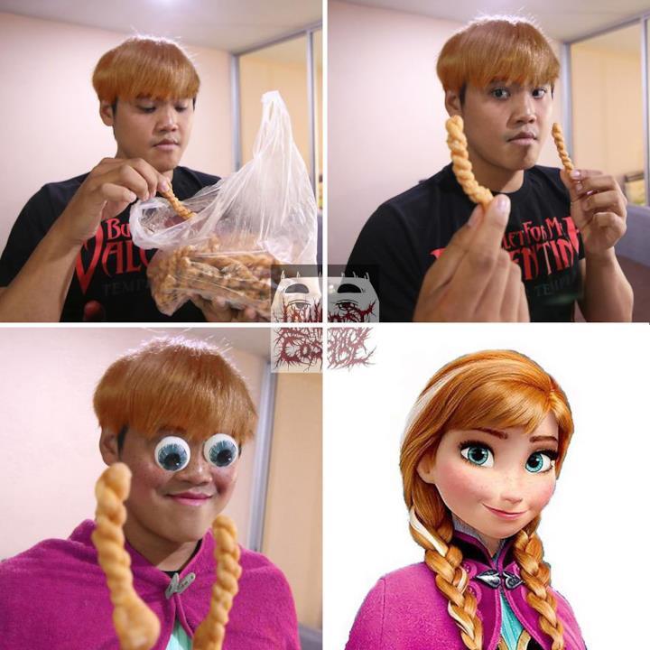 Low cost Cosplay: la principessa Anna di Frozen