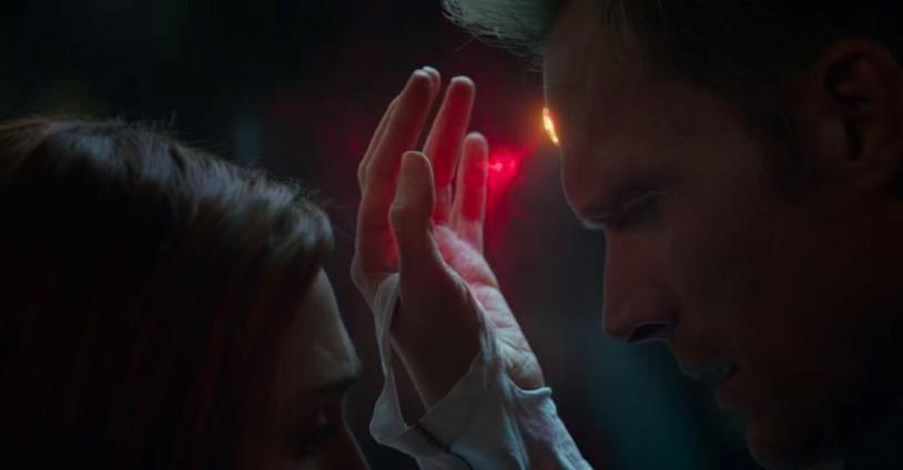 Scarlet e Visione nello spot di Avengers: Infinity War
