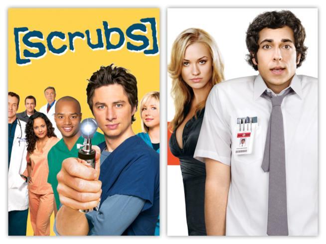Scrubs e Chuck: due serie cult per Fox & Friends