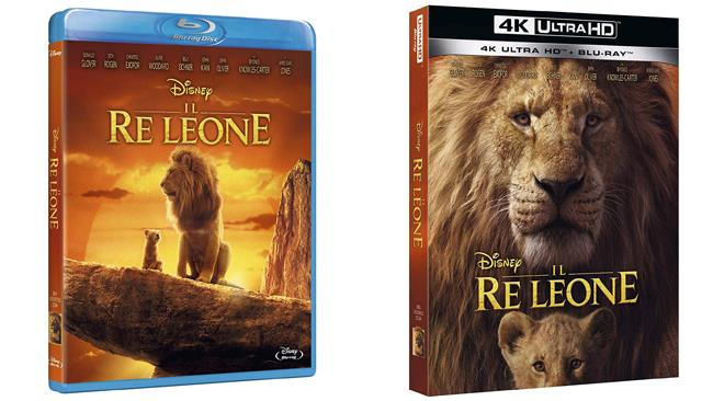 Il Re Leone - il film in edizione Blu-ray e 4K Ultra HD
