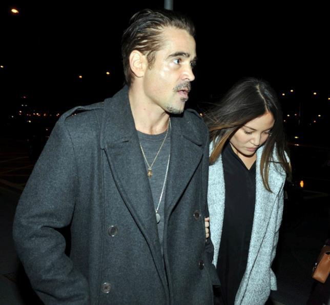 Colin Farrell e la nuova fidanzata al concerto di Adele