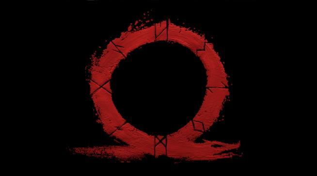 Il logo ufficiale del nuovo God of War