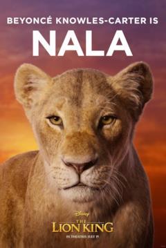 character poster di Nala