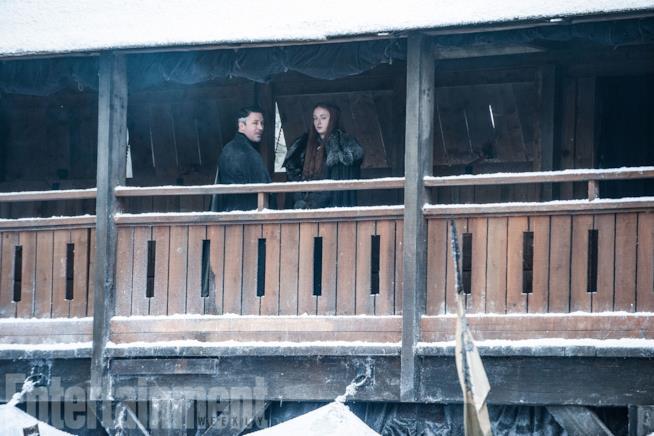 GoT 7: Sansa e Ditocorto a Grande Inverno