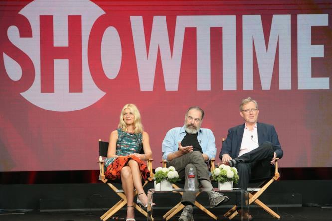 Claire Danes, Mandy Patinkin e Alex Gansa al TCA Tour 2016