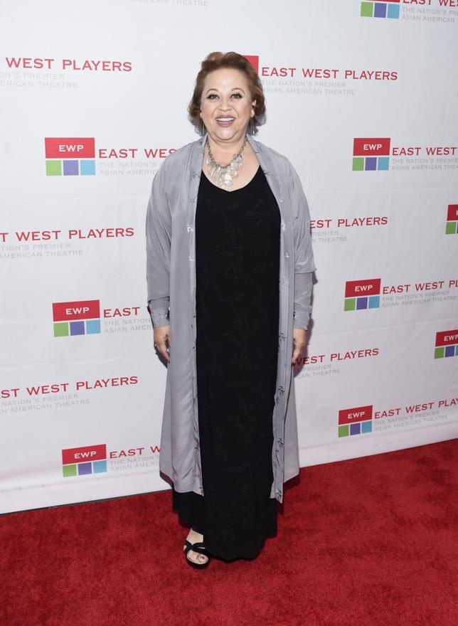 L'attrice Amy Hill