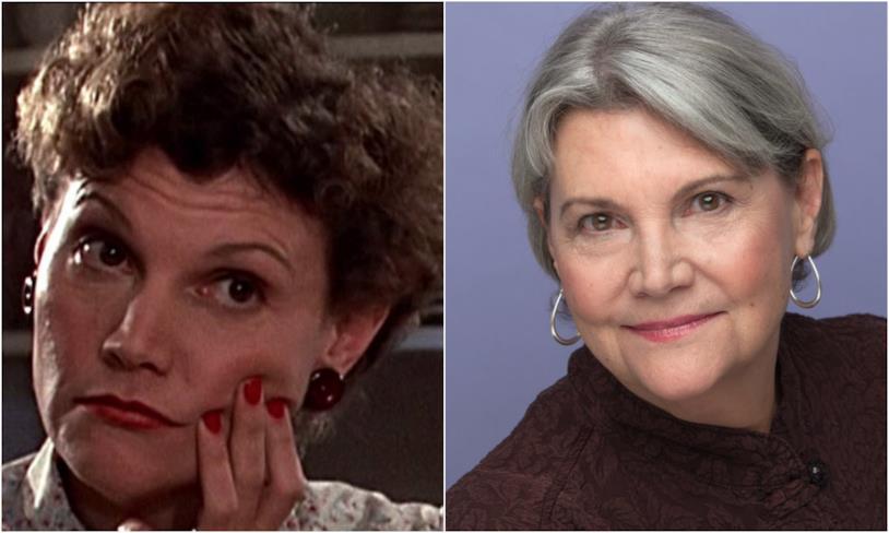 Stella Baines in un collage con Frances Lee McCain
