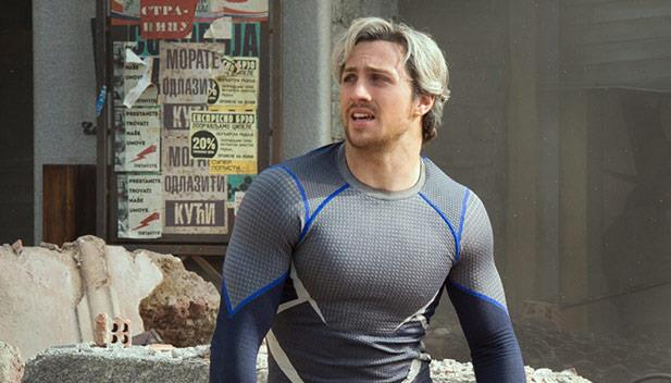 Aaron Taylor-Johnson come Quicksilver in Avengers: Age of Ultron