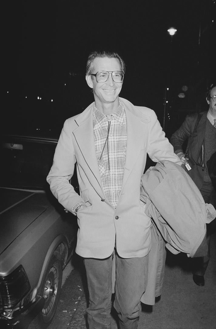 L'attore Anthony Perkins