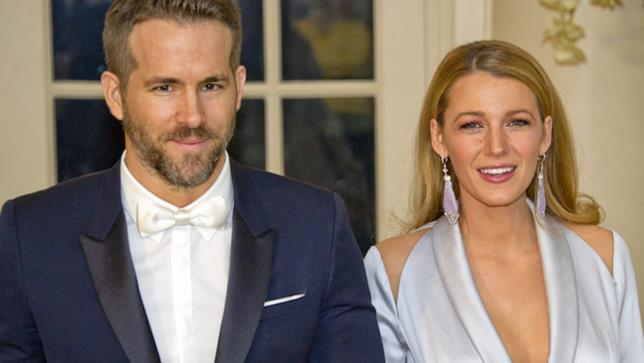 Blake Lively e il marito Ryan Reynolds