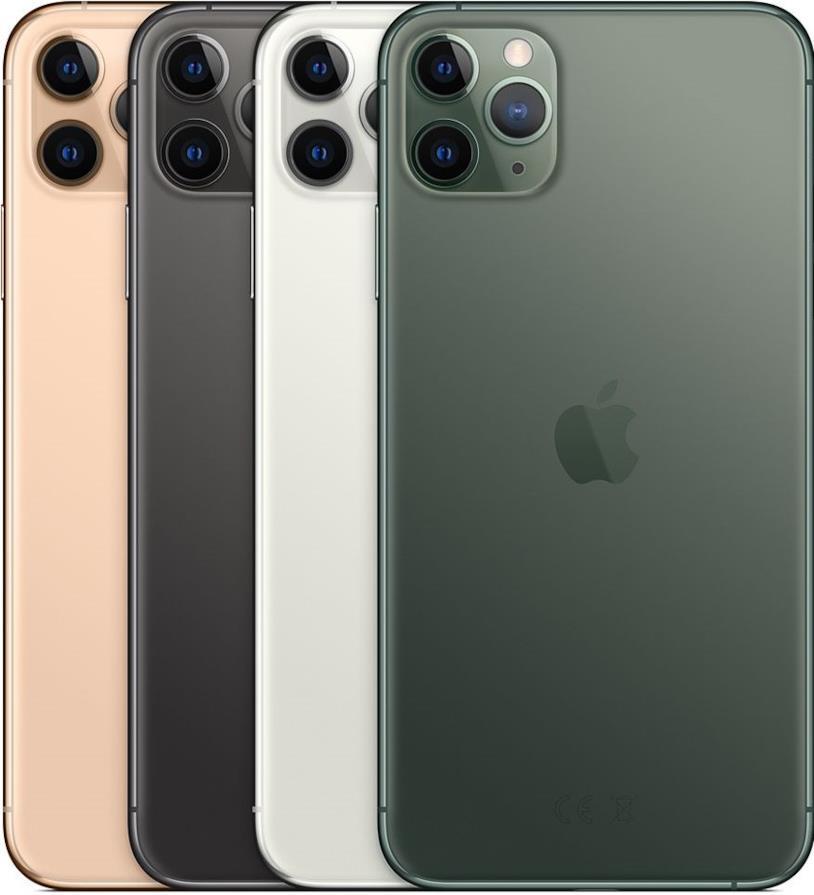 Le diverse colorazioni di iPhone 11 Pro e iPhone 11 Pro Max