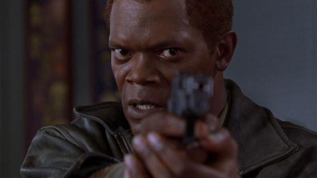Samuel L. Jackson è Danny Roman in una scena del film