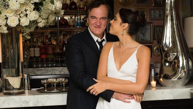 Quentin Tarantino e la fidanzata