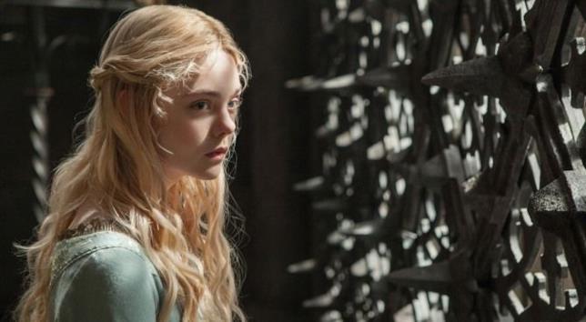 Elle Fanning in una scena del film Mary Shelley